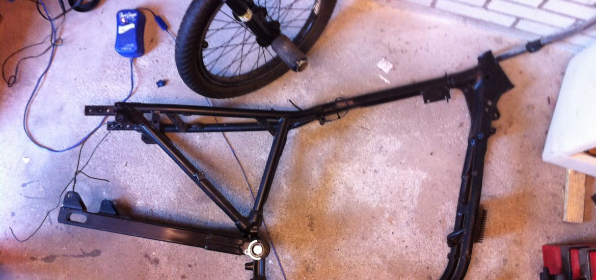 Building My Sixties Style Chopper