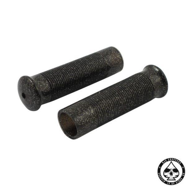Anderson Metalflake Grips ( Black )