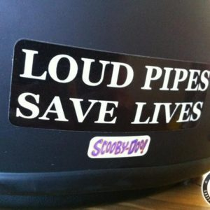 Loud Pipes sticker