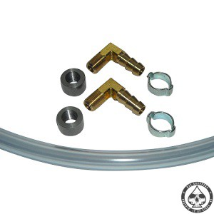 Oil / Fuel sight kit brass
