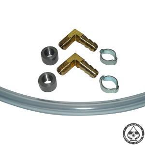 Oil / Fuel sight kit brass