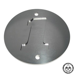 Point cover made of two stainless 1,5mm plates. Will fit all vertical Harley Davidson 2 hole nosecones