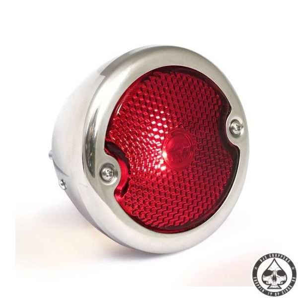 No School Choppers Taillight 33-36 Polished