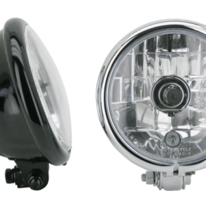 5 3/4 Bottom mount headlight (Halogen) ( Glosse Black )