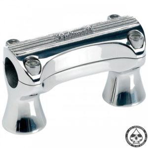 Biltwell Thunder Risers Polished 1""