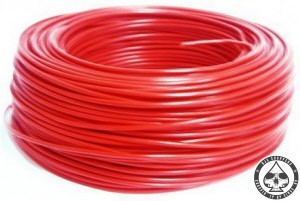 Electrical wire Red, 0.75mm2