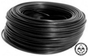 Electrical wire Black, 0.75mm2