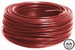 Electrical wire, Brown, 075mm2.