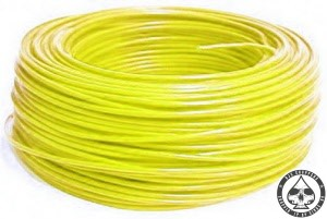 Electrical wire Yellow, 075mm2