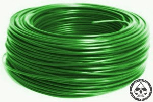 Electrical wire Green