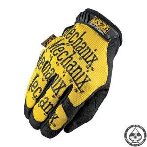 Mechanix gloves 'yellow'