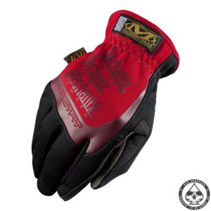 Mechanix 'fast fit' gloves 'Red'