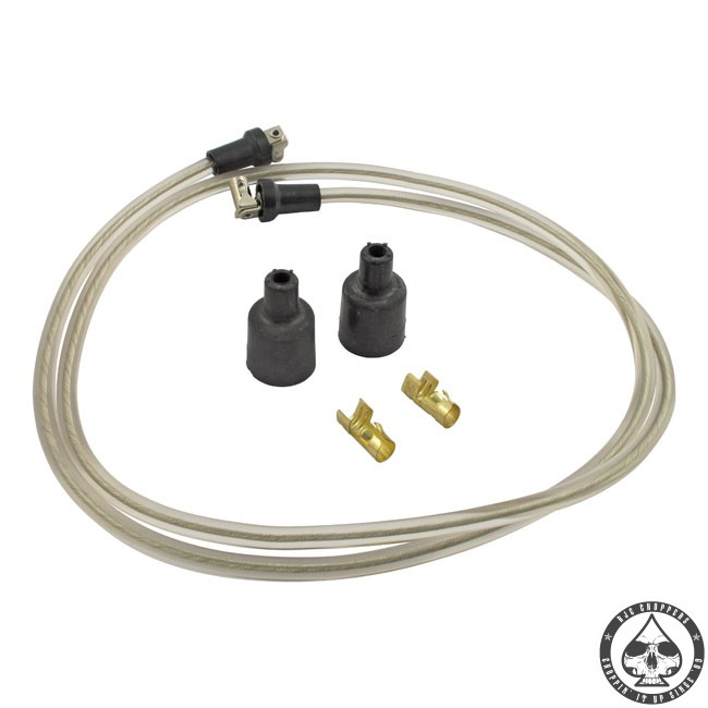 LowBrow spark plug wire kit (Translucent)
