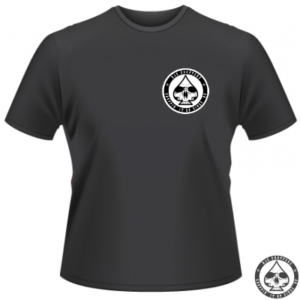 Official RJC-Choppers logo shirt with a small chest logo and a largo one on the back.