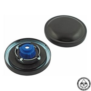 Late bayonet style gas cap, set (Black)