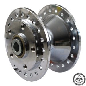 Chrome plated Alu 'Diabolo' Hub 84-99