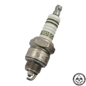 Spark Plugs Bosch are available as 'Super' spark plugs withs Cu-Electrode/copper core, and as Bosch 'Platinum' spark plugs, with a center electrode of 99,9% pure platinum.