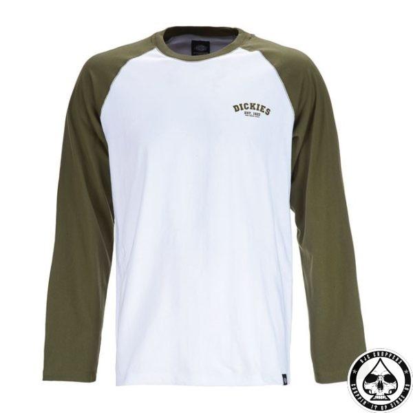 Dickies shirt - White/Olive