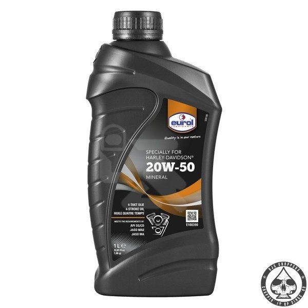 Eurol 20W 50, 1 ltr.