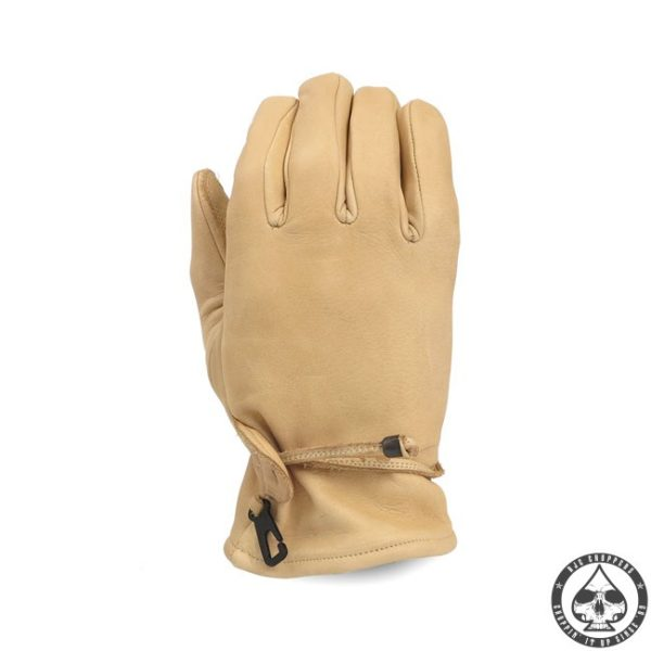 MCS Leather riding gloves 'Sand'