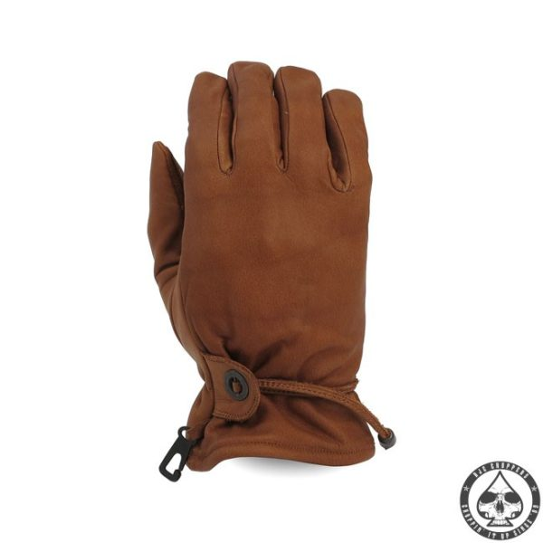 MCS Leather riding gloves 'Brown'