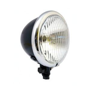 Easyrider Bates style 5 3/4 headlight (Black/Chrome)