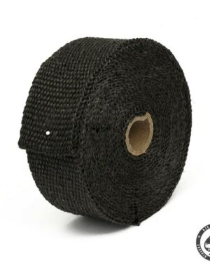 Pro-tect Exhaust wrap, 7,5 meter (Black). For that Bobber/chopper look or a little extra performance