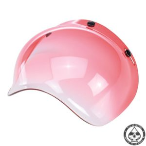 Biltwell Bubble visor (Red Gradient)