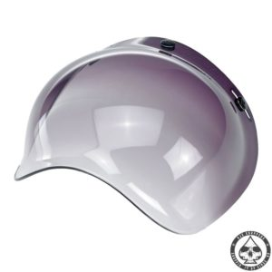 Biltwell Bubble visor (Smoke Gradient)