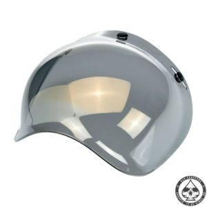 Biltwell Bubble visor (Gold mirror) Anti-fog