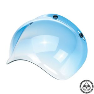Biltwell Bubble visor (Blue Gradient)