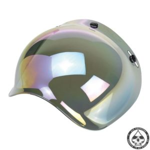 Biltwell Bubble visor (Rainbow Mirror)