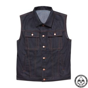 John Doe, Denim Vest Denim vest for extra protection or just a cool retro look. Looks great combined with a John Doe Kevlar Lumberjack shirt. Available in male EU Sizes: S, M, L, Xl, 2XL, 3XL