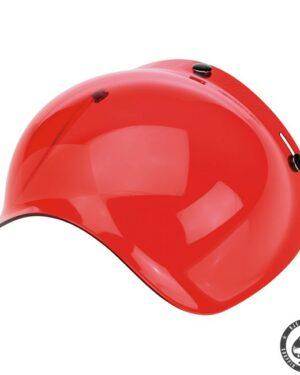 Biltwell Bubble visor (Red Solid)