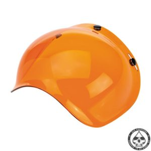 Biltwell Bubble visor (Amber Solid) Anti-fog