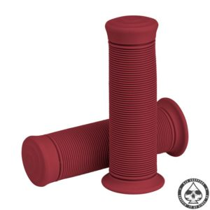 Biltwell Kung-Fu Grips, Oxblood red