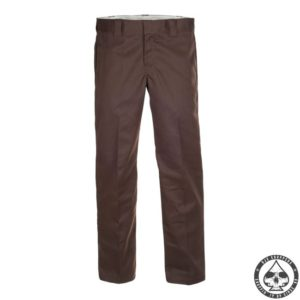Dickies 873 Slim Straight Work pants, 'Chocolate brown'
