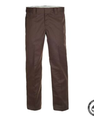 Dickies 873 Slim Straight Work pants, 'Chocolate brown'