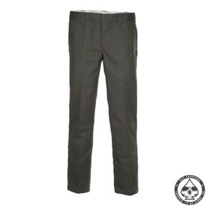 Dickies 873 Slim Straight . Men's Slim fit, straight leg work pant. 65% Polyester, 35% cotton 8.5oz twill. Male EU sizes.