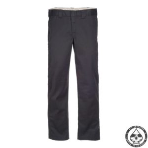Dickies 873 Slim Straight Work pants, 'Rinsed black'