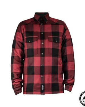 John Doe, Kevlar riding shirt, Red/Black