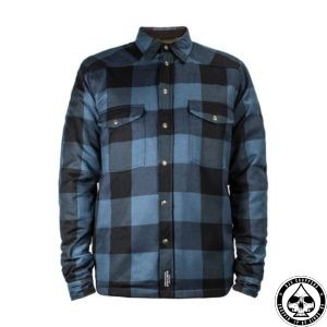 John Doe, Kevlar riding shirt, Blue/Black