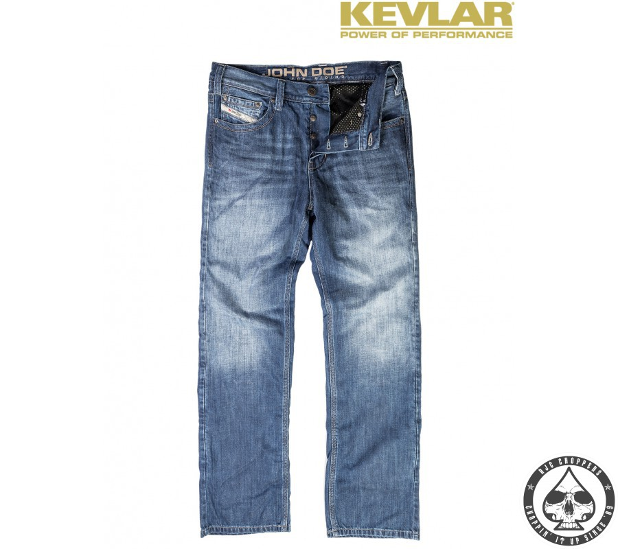 john doe denim jeans kevlar light blue rjc choppers. Black Bedroom Furniture Sets. Home Design Ideas