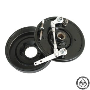 Front brake drum kit, Double cam, 37-48 B.T.