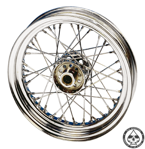 Laced wheels