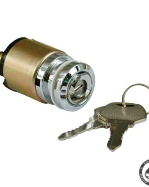 Ignition switch, thin with flat key