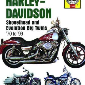 Haynes Service manual '70 -'99 Bigtwin