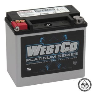 WESTCO, AGM BATTERY, 12V, 18AMP, 300CCA