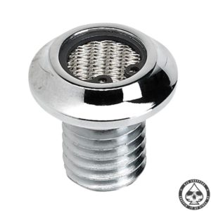 Lowbrow Breather bolts, Chrome