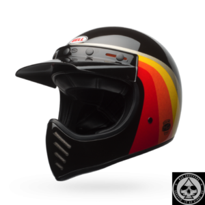 Bell Moto 3 Helmet, Chemical Candy Black/Gold